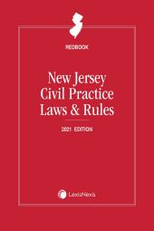 New Jersey Civil Practice Laws and Rules (Redbook) cover