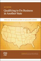 Qualifying to Do Business in Another State: The CSC® 50-State Guide to Qualification cover