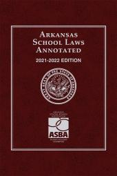 Arkansas School Laws Annotated cover