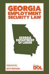 Georgia Employment Security Law cover