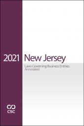 CSC® New Jersey Laws Governing Business Entities Annotated cover