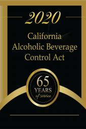 California Alcoholic Beverage Laws cover