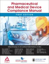 AHLA Pharmaceutical and Medical Device Compliance Manual (Non-Members) cover