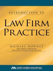 An Introduction to Law Firm Practice cover