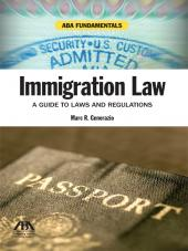 ABA Fundamentals: Immigration Law cover