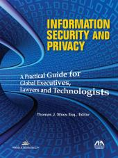 Information Security and Privacy cover