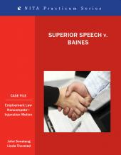 Superior Speech and Hearing Center v. Baines cover