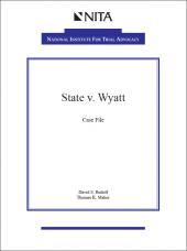 State v. Wyatt Case File cover