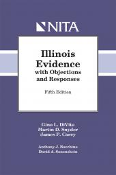 Illinois Rules of Evidence with Objections and Responses cover