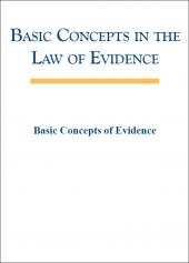Basic Concepts in the Law of Evidence (Disk 2) cover