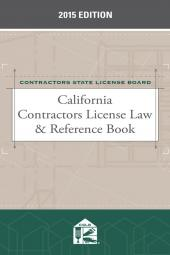 California Contractors License Law & Reference Book cover