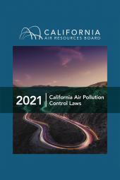 California Air Pollution Control Laws cover