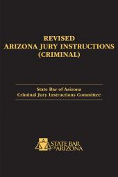 Revised Arizona Jury Instructions (Criminal) cover