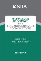 Federal Rules of Evidence with Cues and Signals for Good Objections cover