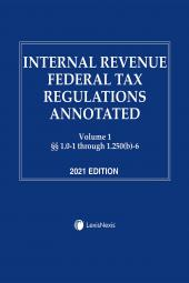 Internal Revenue Federal Tax Regulations Annotated cover