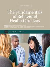 AHLA Fundamentals of Behavioral Health Care Law (Non-Members) cover