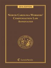North Carolina Workers' Compensation Law Annotated cover