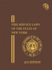 FASNY Fire Service Laws of the State of New York (Members Only), 2017 Edition cover