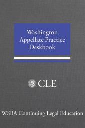 Washington Appellate Practice Deskbook cover