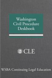 Washington Civil Procedure Deskbook cover