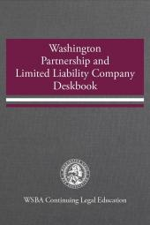 Washington Partnership and Limited Liability Company Deskbook cover