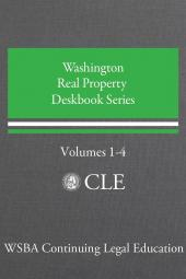 Washington Real Property Deskbook Series Volumes 1-4 (Real Estate Set) cover