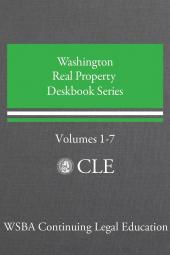 Washington Real Property Deskbook Series Volumes 1-7 (Comprehensive Set) cover