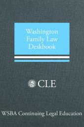 Washington Family Law Deskbook cover