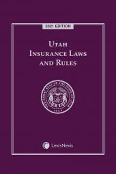 Utah Insurance Laws and Rules cover