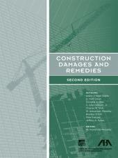 Construction Damages and Remedies cover