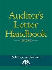Auditor's Letter Handbook cover