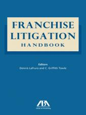 Franchise Litigation Handbook cover
