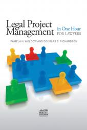Legal Project Management in One Hour for Lawyers cover
