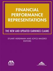 Financial Performance Representations: The New and Updated Earnings Claims cover