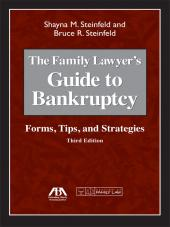 Family Lawyer's Guide to Bankruptcy: Forms, Tips, and Strategies cover