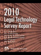 ABA Legal Technology Survey Report cover