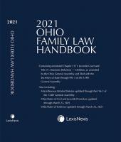 Ohio Family Law Handbook and Ohio Elder Law Handbook - A Companion to Ohio Family Law Handbook cover