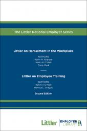 Littler on Harassment in the Workplace & Employee Training cover