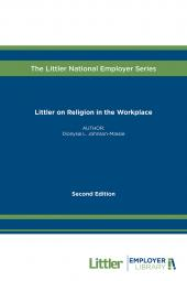 Littler on Religion in the Workplace cover