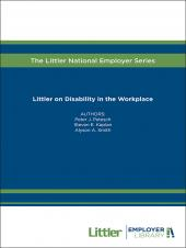 Littler on Disability in the Workplace cover