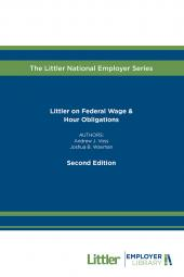 Littler on Federal Wage & Hour Obligations cover