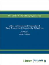 Littler on Government Contractors & Equal Employment Opportunity Obligations cover