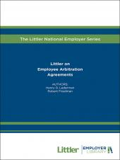Littler on Employee Arbitration Agreements cover