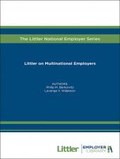 Littler on Multinational Employers cover
