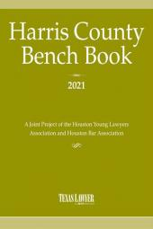 Harris County Bench Book cover
