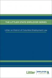 Littler on District of Columbia Employment Law cover