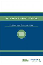 Littler on Iowa Employment Law cover