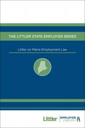Littler on Maine Employment Law cover