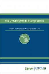 Littler on Michigan Employment Law cover