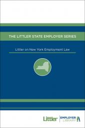 Littler on New York Employment Law cover